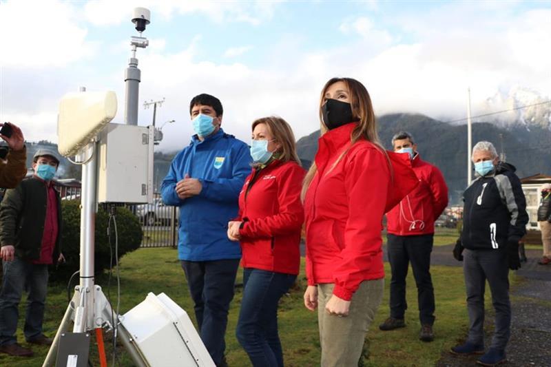 Puerto Cisnes cuenta con nueva estación de diagnóstico para el monitoreo de la calidad del aire